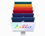 Apple debuts colorful 24-inch iMac with M1, upgraded camera audio